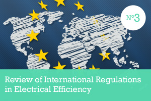 Review of international regulations Electrical Efficiency