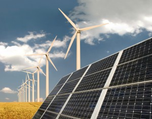 renewable energies, wind energy, solar energy, natural gas, Chris Huhne